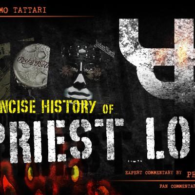Judas Priest logo history