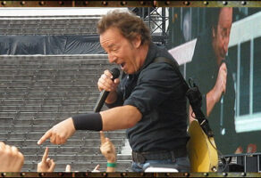 BRUCE SPRINGSTEEN  & THE E-STREET BAND – HELSINKI 11.7.2008