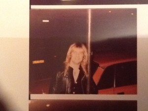 Old pic taken outside a gig on the Killing Machine tour.