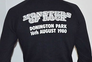 Monsters of Rock sweatshirt from 16th August 1980.