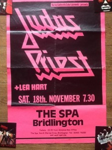 Killing Machine gig poster.