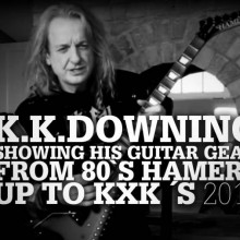 "Just released: K.K.Downing´s ""Toys In The Attic Vol. 2"""