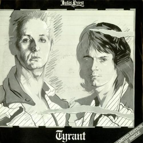 Tyrant, Rocka Rolla / Genocide, 12inch white vinyl, 1983