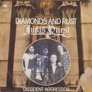 Diamond And Rust / Dissident Aggressor, 7inch, Holland 1977