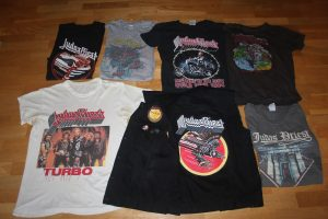 T-shirts, vintage and bootleg