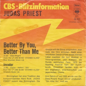 Better By You – Invader promo Germany