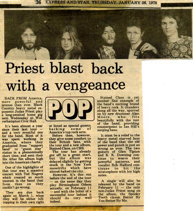 Express And Star Jan26 1978