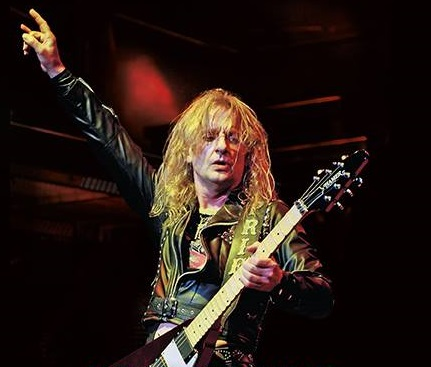 """K.K. Downing """"Heavy Duty"""" US edition book cover released!"""