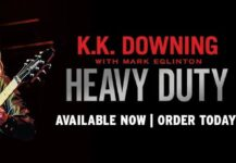 """K.K. Downing dedicated copy of """"Heavy Duty – Days And Nights In Judas Priest"""" available for Christmas!"""